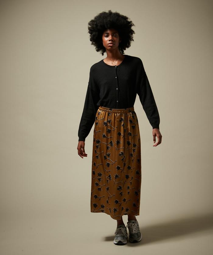 Gold leaves Josepha skirt