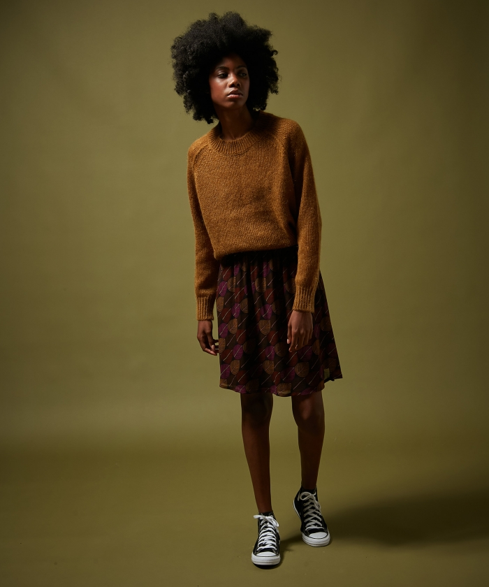 Fall leaves Justine skirt