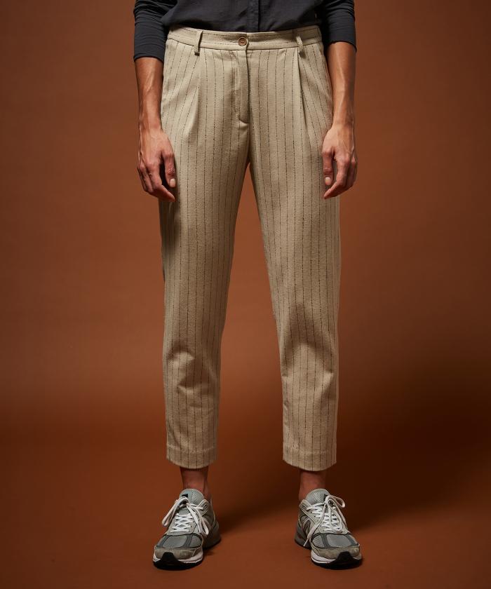 Pantalon Pinson à rayures tennis