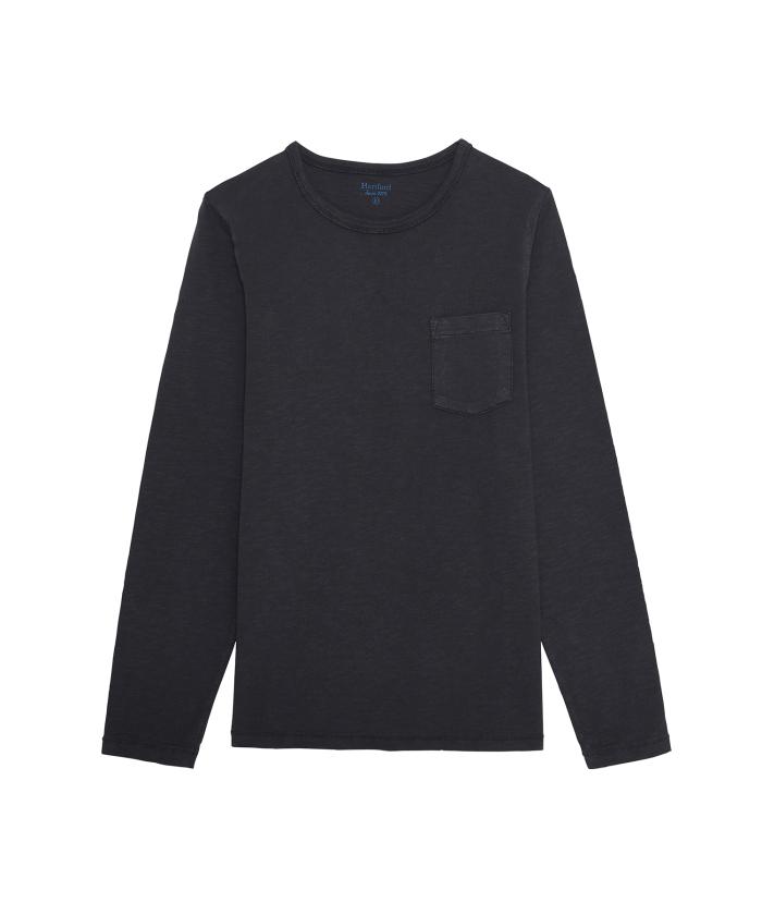 Polo Enfant bleu en jersey de coton