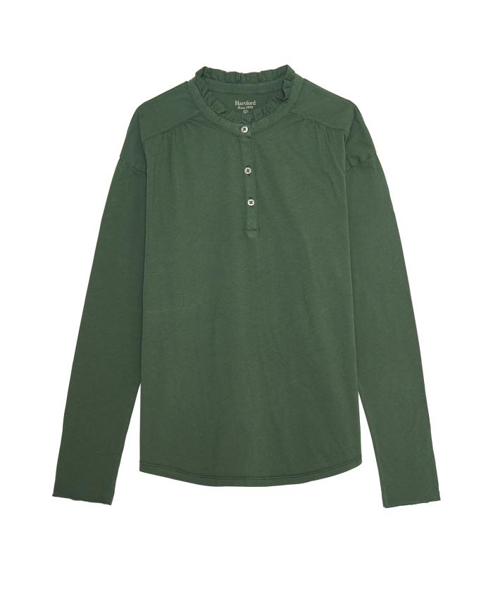 Tee-shirt Enfant Turfun en coton léger vert