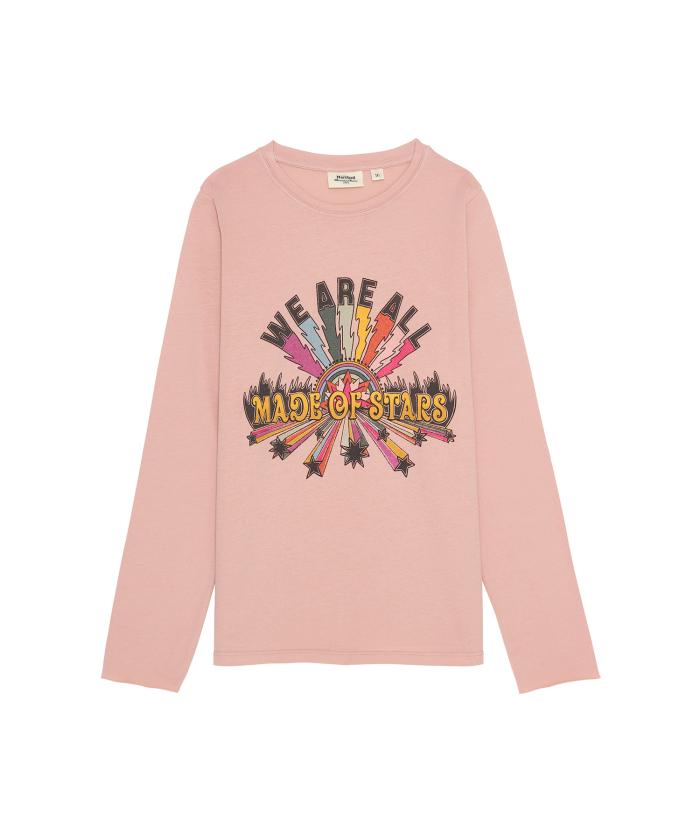 Tee-shirt rose Teoman 'Stars'