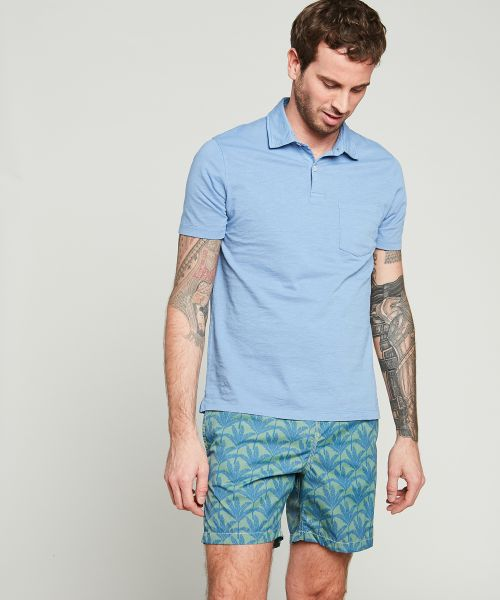 Traveller's Tree' prints Swim shorts