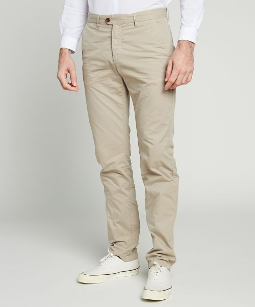 Light gabardine sand Tobby pants