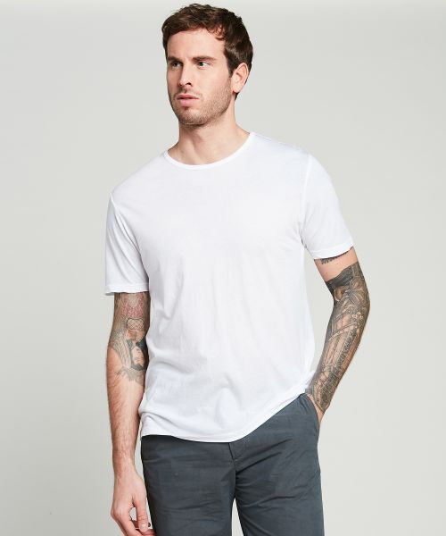 Tee-shirt en light jersey blanc