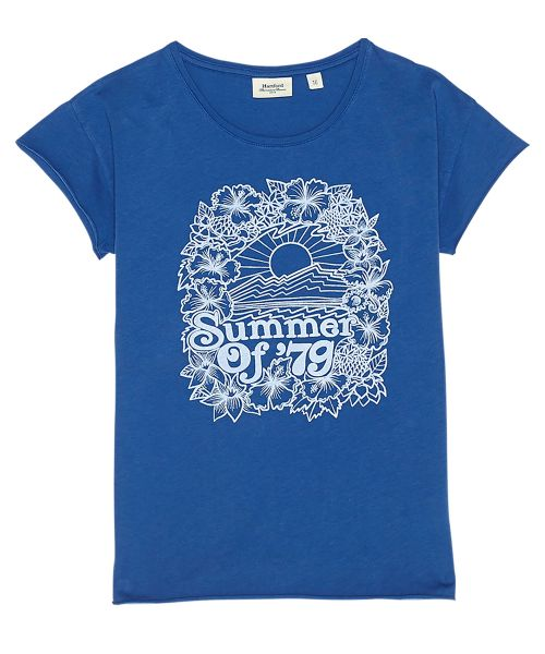 Tee-shirt 'Summer of 79' bleu