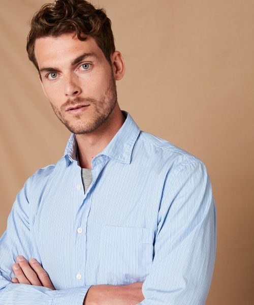 Striped cotton Paul regular shirt