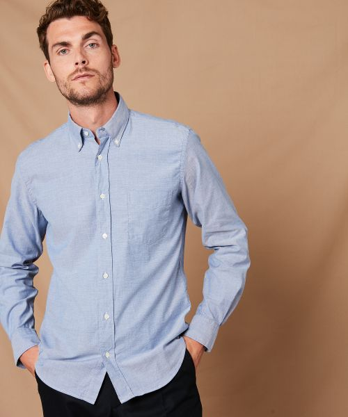 Chemise regular Pal en oxford