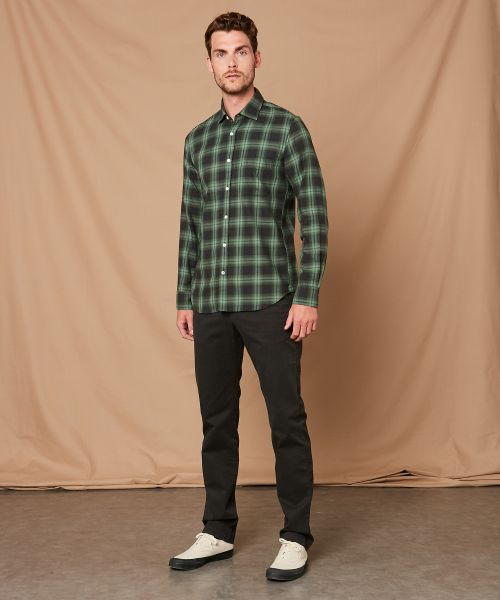 Checked slim-fit Storm shirt
