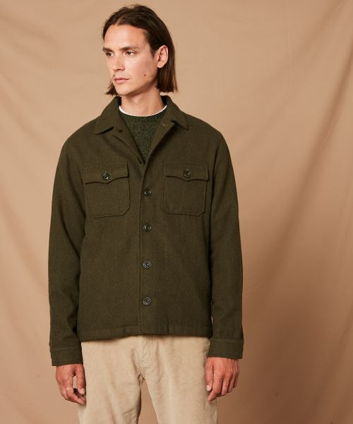 Army Daytona worker jacket in wool
