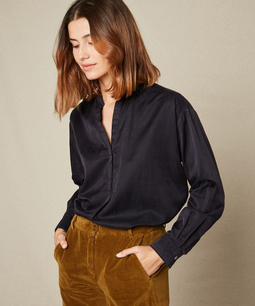 Cotton and silk Cabane shirt
