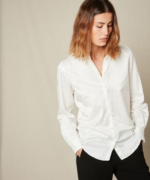 Cotton and silk Carpo shirt