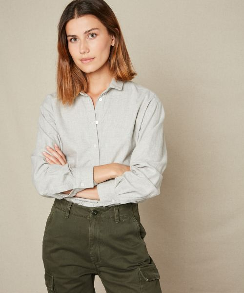 Grey flannel Charlot shirt