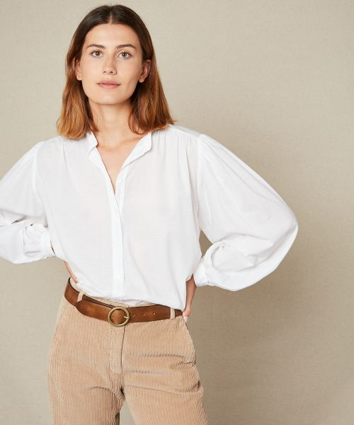 Cotton voile Courtney shirt