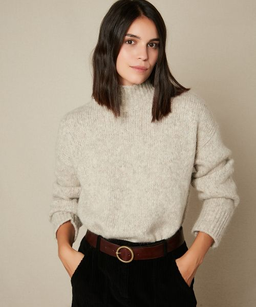 Mylan turtleneck wool sweater