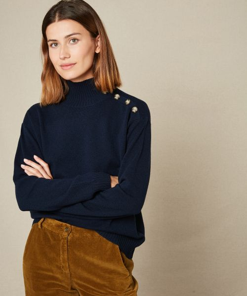 Mylia wool and cashmere sweater