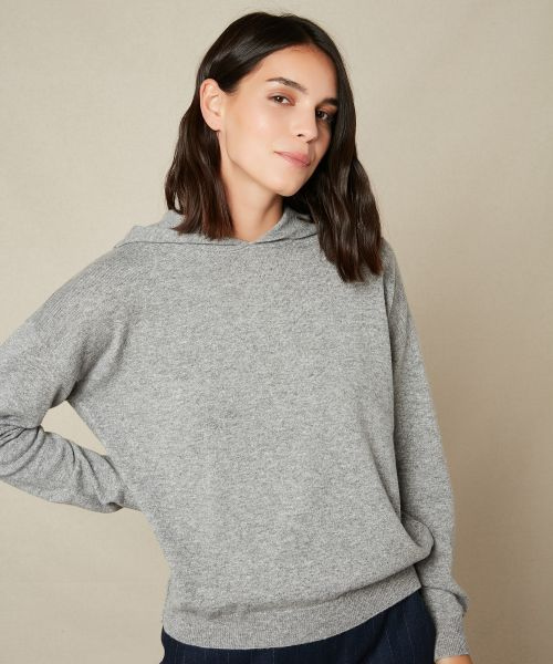 Wool and cashmere Marig hoody sweater