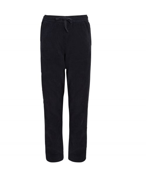 Pantalon Gym en velours bleu