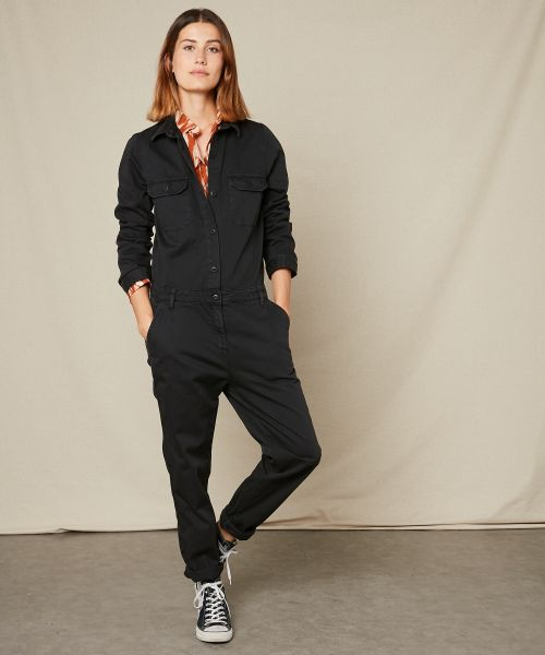 Party cotton jumpsuit