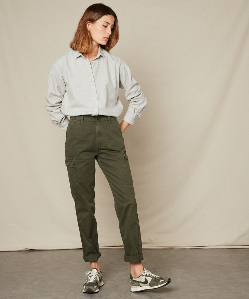Pantalon Pargot en coton army