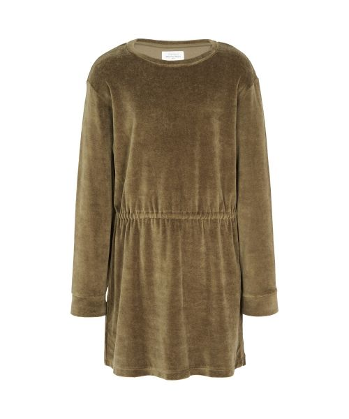 Tayrona velvet fleece dress