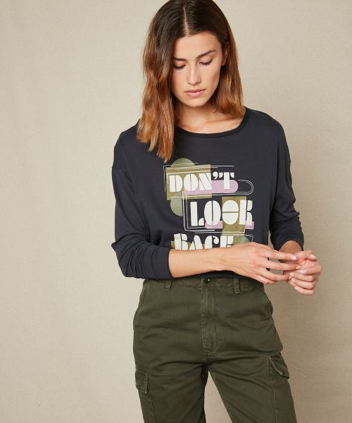 Tee-shirt 'Don't Look Back'