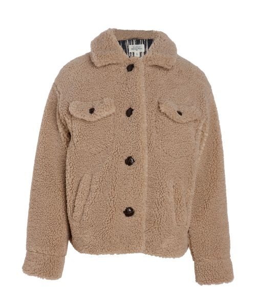 Beige fake fur Valera jacket
