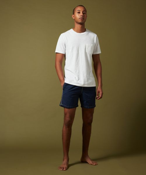 Navy solid classic Swim shorts