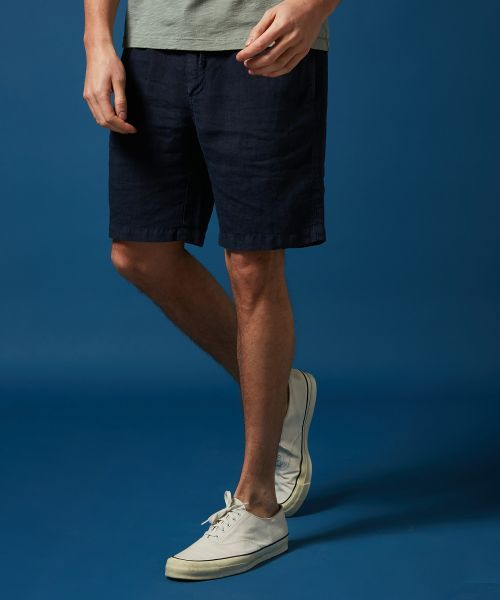 Navy linen Tank easy shorts